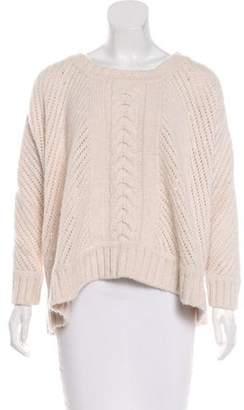 Enza Costa Wool Oversize Sweater