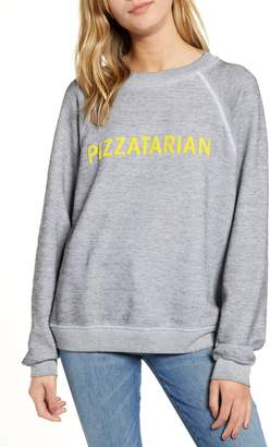 Wildfox Couture Pizzatarian Sommers Sweatshirt