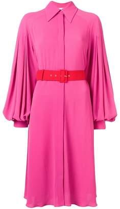 Emilia Wickstead belted shirt dress