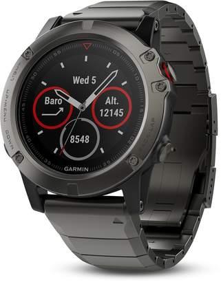 Garmin fenix 5X Sapphire Premium Multisport GPS Smartwatch with Metal Band