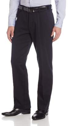 Lee Men's Stain Resistant Relaxed Fit Flat Front Pant