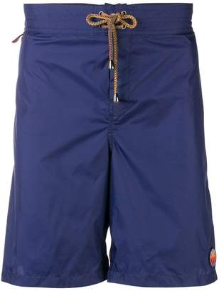 Missoni Mare mixed print detail swim shorts