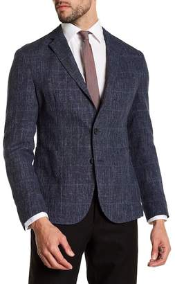 BOSS Nold Trim Fit Unconstructed Wool Blend Sport Coat