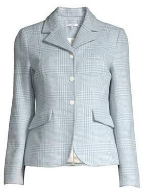 Ganni Woodside Check Jacket