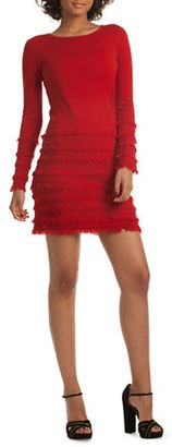 Trina Turk Sass Solid Sweater Dress $328 thestylecure.com