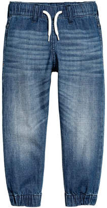 H&M Denim Joggers - Blue