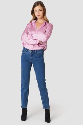 Rut & Circle Rut&Circle Hanne Straight Jeans Blue Wash