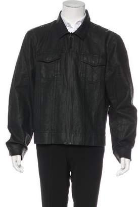 James Perse Wax-Coated Jacket