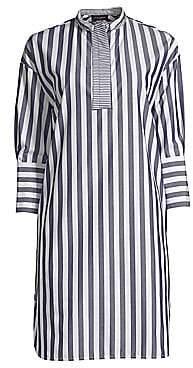 Piazza Sempione Women's Striped Cotton Tunic Dress