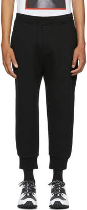 Neil Barrett Black Tapered Lounge Pants