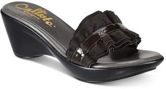 Callisto Willow Platform Wedge Sandals Women's Shoes