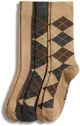 Jockey 3-Pack Argyle Dress Crew Socks