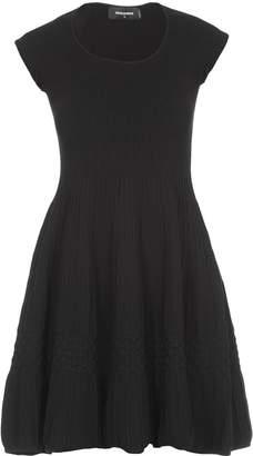 DSQUARED2 Plain Color Dress