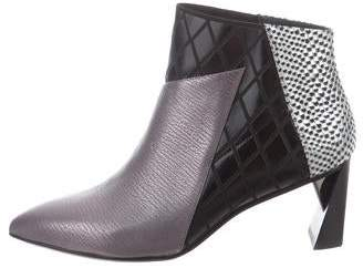 United Nude Embossed Ankle Boots