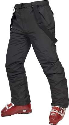 Trespass Youths Boys Glasto Zip Up Padded Waterproof Ski Trousers
