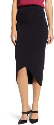 Chelsea28 Body-Con Sweater Skirt