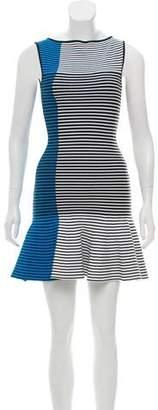 Ohne Titel Striped Mini Dress