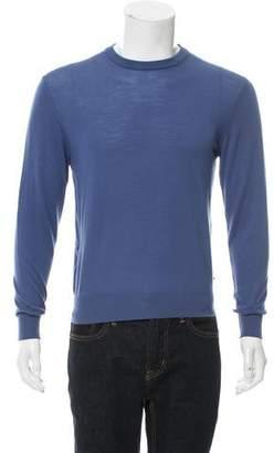 Luciano Barbera Wool Crew Neck Sweater w/ Tags