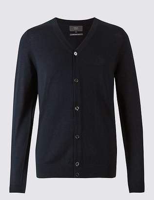 Marks and Spencer Pure Merino Wool Cardigan