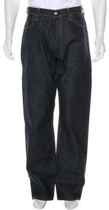 Evisu Baseball Embroidered Logo Selvedge Jeans