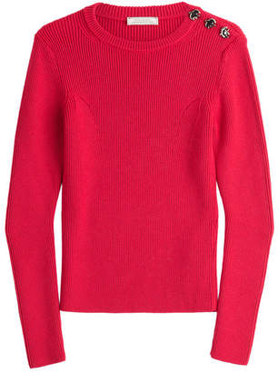 Nina Ricci Wool Pullover with Buttons