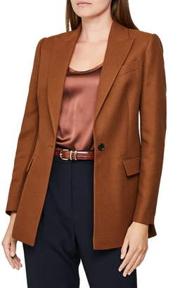 Reiss Hanbury Wool Blend Jacket