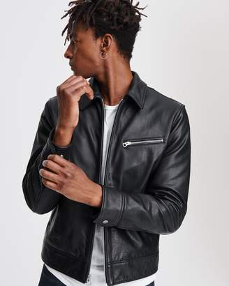 Rag & Bone Leather garage jacket