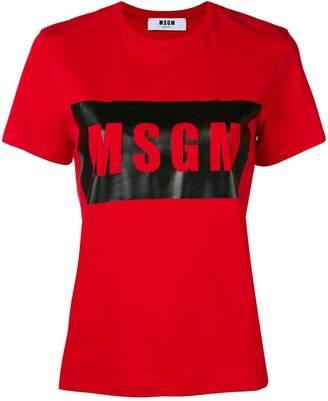 MSGM logo outline T-shirt