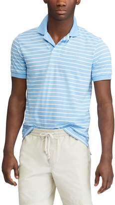 Chaps Big & Tall COOLMAX Classic-Fit Striped Performance Polo