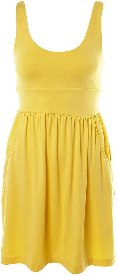Lattice Back Vest Dress