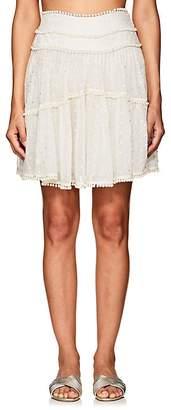 Zimmermann Women's Painted Heart Contour Miniskirt
