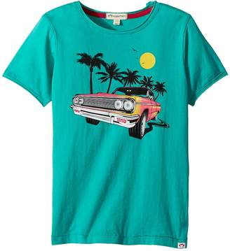 Appaman Kids Vintage Lowrider Car with Palm Trees Graphic Short Sleeve Tee Boy's T Shirt