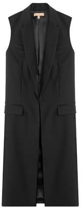 Michael Kors Sleeveless Wool Coat
