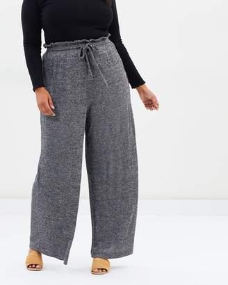ICONIC EXCLUSIVE - Sandiago Wide Leg Knit Pants