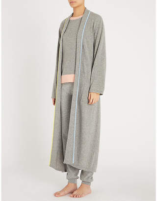 Cashmere Dressing Gown Shopstyle Uk
