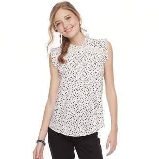 Heartsoul Juniors' HeartSoul Print Flutter Sleeve Top