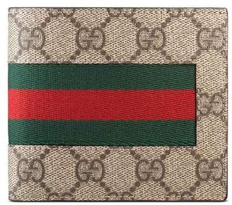 Gucci Web GG Supreme coin wallet