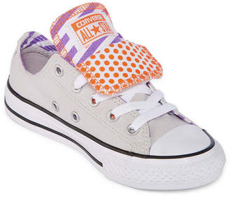 805be8b57ad7 Converse Chuck Taylor All Star Double Tongue Girls Sneakers - Little Kids Big  Kids