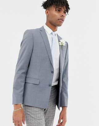 Asos (エイソス) - ASOS Wedding Skinny Suit Jacket In Tonic