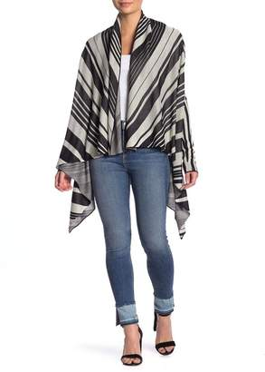 Flying Tomato High/Low Stripe Cardigan