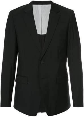 CK Calvin Klein tailored fitted blazer