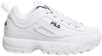 Fila Womens Disruptor II Premium Sneakers-UK 4