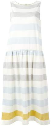 Parker Chinti & gathered waist striped dress