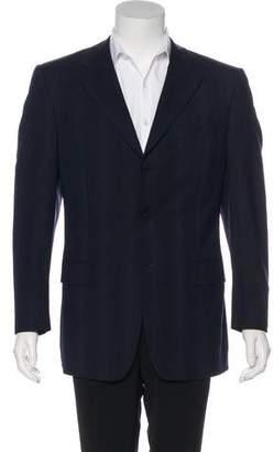 Z Zegna 2264 Z Zegna Wool Striped Blazer