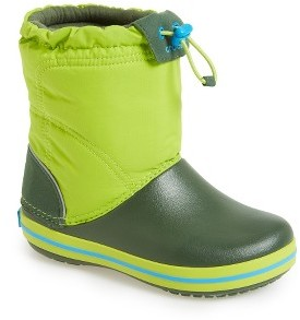 Toddler Crocs(TM) Crocband Lodgepoint Boot $49.95 thestylecure.com