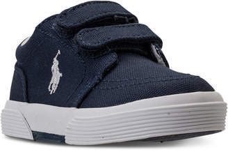 Polo Ralph Lauren (ポロ ラルフ ローレン) - Polo Ralph Lauren Toddler Boys' Faxon Ii Stay-Put Closure Casual Sneakers from Finish Line