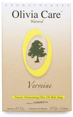 Made In France 5oz 4pk Natural Verbena Soap Bars