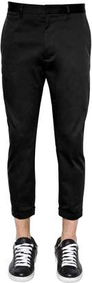 DSQUARED2 16cm Hockney Stretch Twill Chino Pants