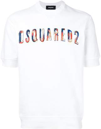DSQUARED2 printed logo sweatshurt