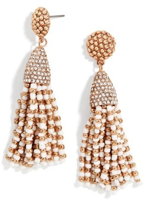 Women's Baublebar Tassel Earrings $42 thestylecure.com